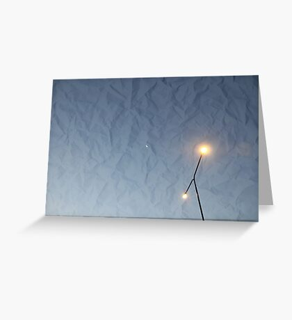 Streetlights Greeting Card