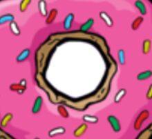 Donut (hipster) Sticker