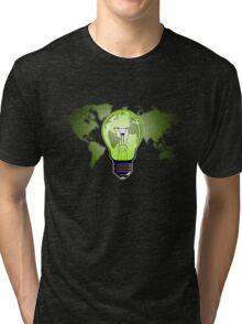 The Green Glow Tri-blend T-Shirt