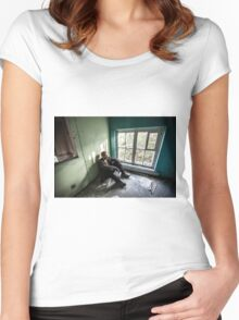 Rest in Decay Women's Fitted Scoop T-Shirt