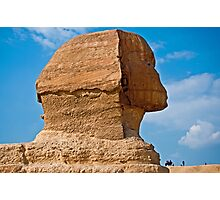 The Great Sphinx of Giza Photographic Print