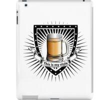 beer shield iPad Case/Skin
