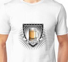 beer shield Unisex T-Shirt