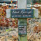 Patrick Kavanagh Grave by Finbarr Reilly