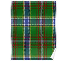 00372 Currie of Arran Family Tartan  Poster