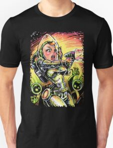 Space Girl 20 Unisex T-Shirt