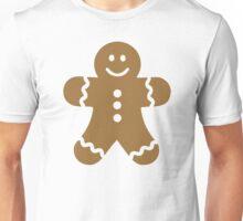 Lebkuchen gingerbread man Unisex T-Shirt