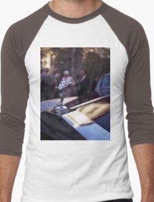 Rolls Royce in wedding analog medium format Hasselblad film photograph Men's Baseball ¾ T-Shirt