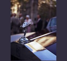 Rolls Royce in wedding analog medium format Hasselblad film photograph Womens Fitted T-Shirt