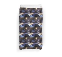 Rolls Royce in wedding analog medium format Hasselblad film photograph Duvet Cover