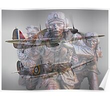Scramble 75 Years On - The Battle of Britain Poster