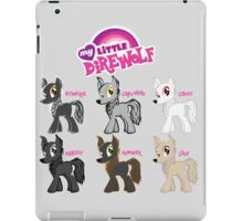 My Little Direwolf iPad Case/Skin
