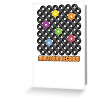 Mudtown Records - Records! Greeting Card