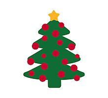Christmas fir tree Photographic Print