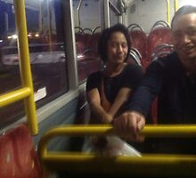 On the bus by Frankmurray