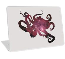 Octopus in Space Laptop Skin
