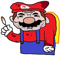 Mario is done. by Aaron Miller