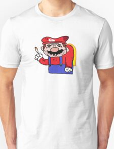 Mario is done. Unisex T-Shirt