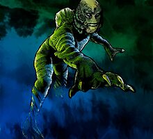 Creature From The Black Lagoon by Dru Woodard