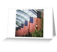 FLAGS OF AMERICA Greeting Card