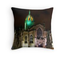 St Giles Church Edinburgh Throw Pillow
