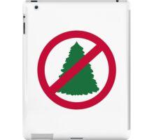 No christmas fir tree iPad Case/Skin