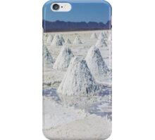 Uyuni salt flat - Bolivia iPhone Case/Skin