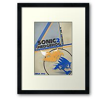 Megadrive - Sonic the Hedgehog 2 Framed Print