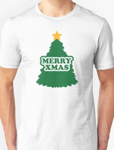 Merry xmas christmas tree T-Shirt
