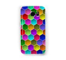 Multi-colored Hexagon Pattern Samsung Galaxy Case/Skin