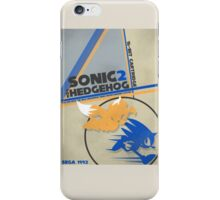 Megadrive - Sonic the Hedgehog 2 iPhone Case/Skin