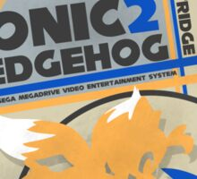 Megadrive - Sonic the Hedgehog 2 Sticker