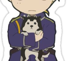 Riza Hawkeye - Full Metal Alchemist Chibi Sticker