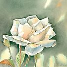 Single Rose by arline wagner