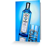 Advertising - Bombay Sapphire Greeting Card
