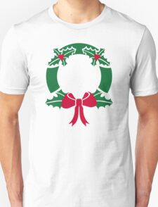 Wreath christmas T-Shirt