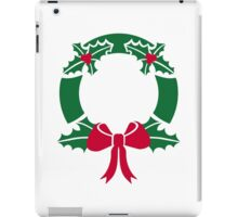 Wreath christmas iPad Case/Skin