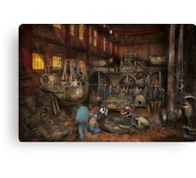 Steampunk - Final inspection 1915 Canvas Print