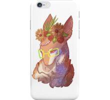 Galaxy Flower Deer  iPhone Case/Skin