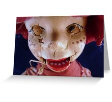 Howdy Doody-- Forced to act in B Horror Movies Greeting Card