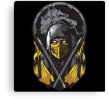 Scorpion Mortal Kombat Canvas Print