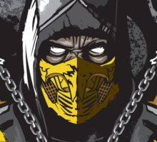Scorpion Mortal Kombat Sticker