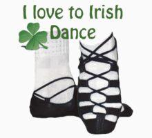 I love to Irish dance Kids Tee