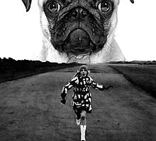 run pug run. by darklordpug