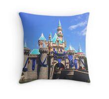Disneyland's Sleeping Beauty's Castle #9 Throw Pillow