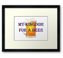 My Kingdom Framed Print