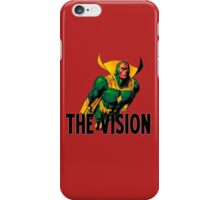 Exclusive MARVEL - The Vision Merchandise iPhone Case/Skin