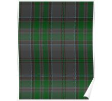00366 Wicklow County District Tartan  Poster