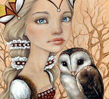 Owl Maiden by tanyabond