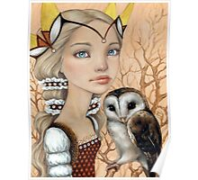 Owl Maiden Poster